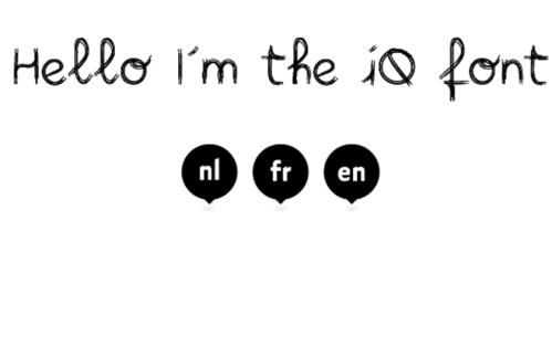 iQ Font